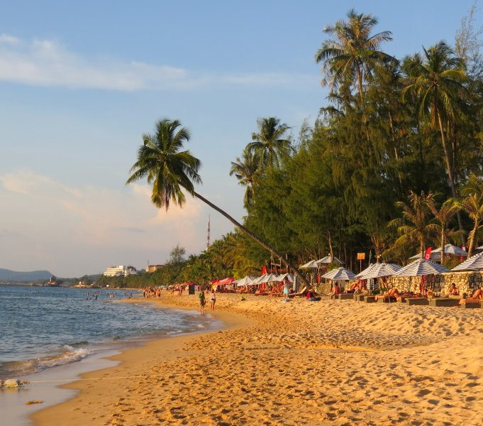 shoreline on phu quoc island