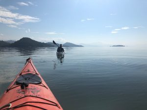 Kayaking in Paraty Bay