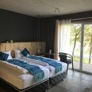 Bedroom of your eco-lodge in Pucon