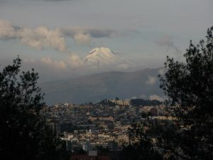 Quito city view