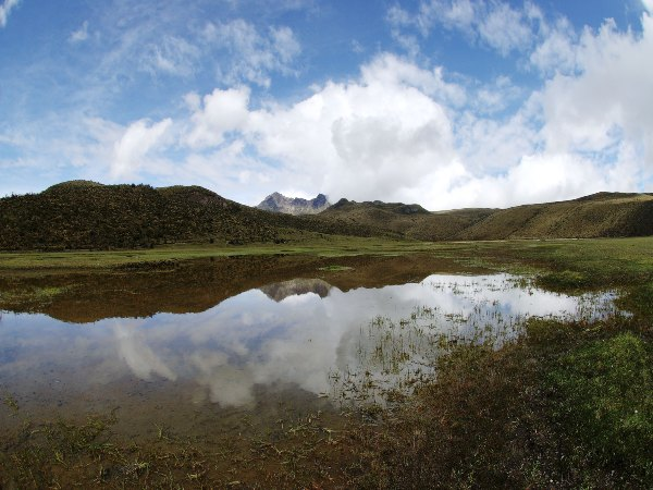 lake in cotopaxi