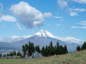 volcano in cotopaxi