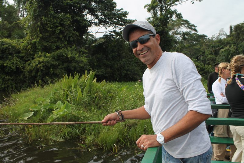 fishing in the amazon