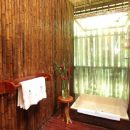 bathroom at the amazon lodge