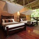 bedroom at the amazon lodge