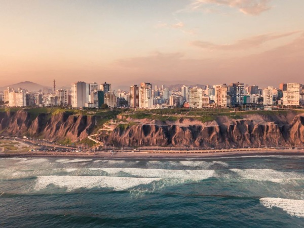 Lima from the sea