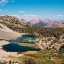 Landscape in Mammoth Lakes, USA