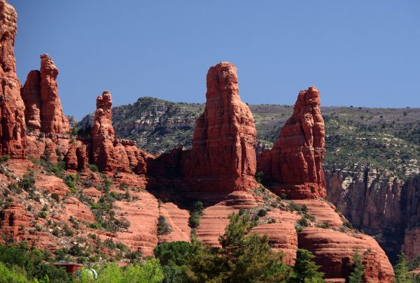Red rock formations in Sedona, USA