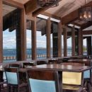Lakeview restaurant at yellowstone, usa
