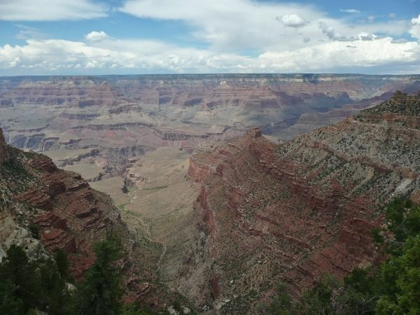 landscape of the grand canyon