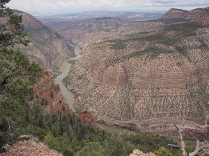 Canyon in Vernal National Park, USA