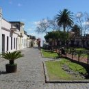 cobbled street in Colonia de Sacramento