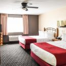 twin double room in accommodation in moab, usa