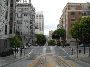 view of street in san fransisco