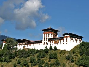 Jakar temple in Bumthang region, Central Bhutan