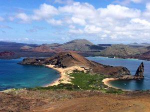 Bartelome Island in the Galapagos
