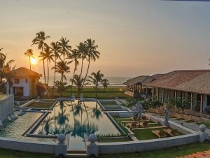 Pool view of special stay near Negombo