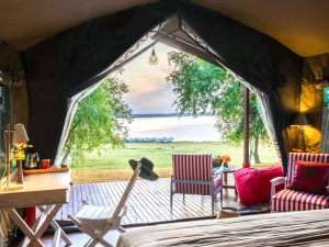 Accommodation at the eco-lodge in Yala National PArk
