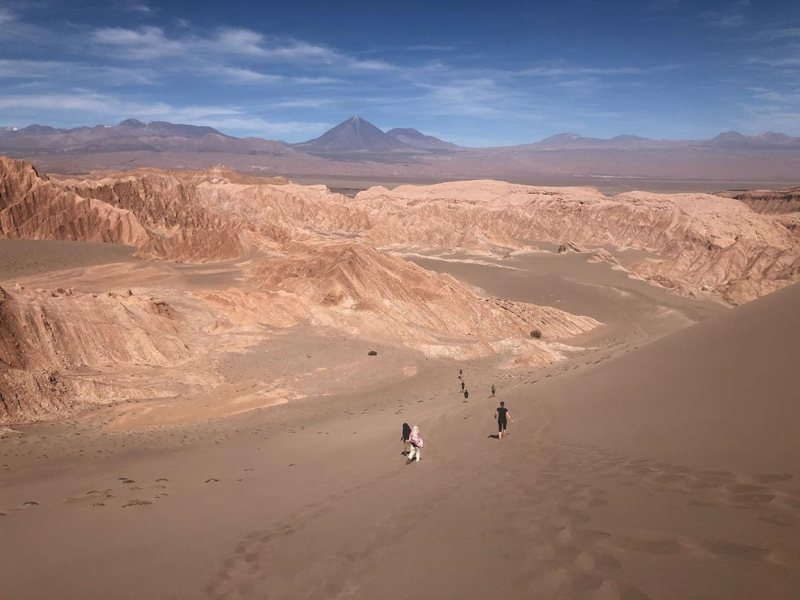 Moon Valley in Argentina
