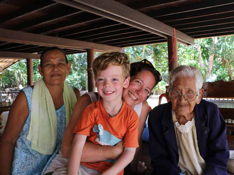 family homestay in thailand