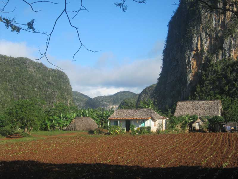 mountain scenery in vinales