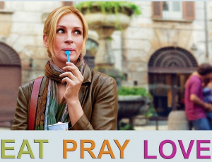 The film Eat Pray Love
