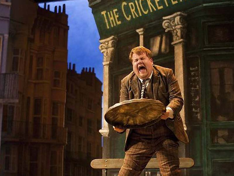 James cordon acting in a play