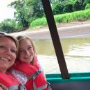 family on a boat trip