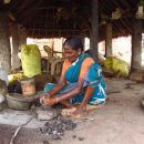 local woman in tanjore