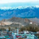 mountain scenery in Leh
