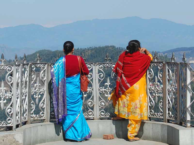 local women in shimla