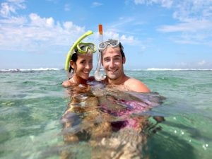 Flores Maumere Snorkel Indonesia Couple