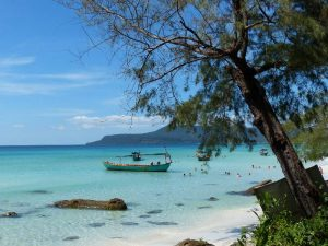Cambodia Ko Rong Long Beach
