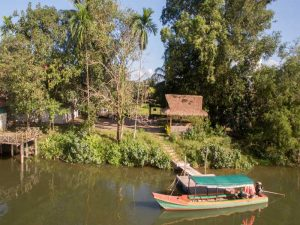 Cardamom Mountains Cambodia Boat River