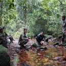 Cardamom - Mountains Cambodia Rangers cool off