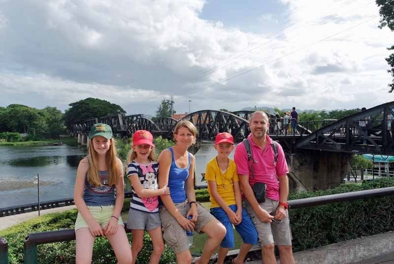 bridge river kwai thailand