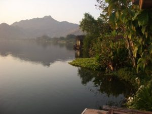 river kwai view thailand