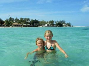thailand ko phangan kids sea